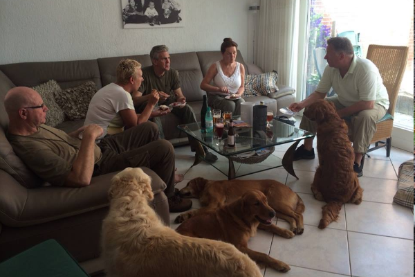 Jack,Daniëlle,Jan,Bets en Stan
